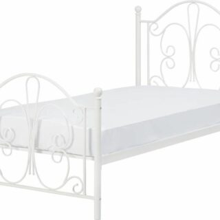 Annabel 3' Bed - White
