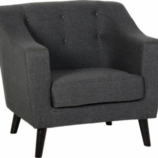 Ashley Chair - Dark Grey Fabric