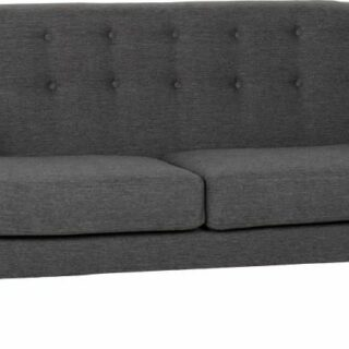 Ashley 3 Seater Sofa - Dark Grey Fabric