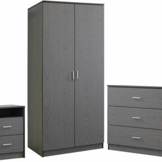 Felix Bedroom Set - Grey