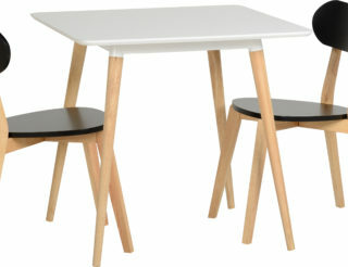 Julian Dining Table - White/Natural