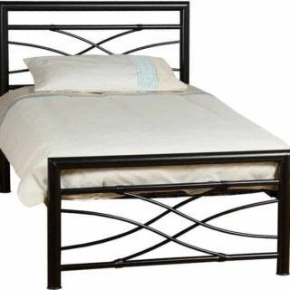 Kelly 3' Bed - Black