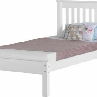 Monaco 3' Bed Low Foot End - White