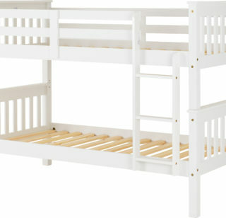 Neptune 3' Bunk Bed - White
