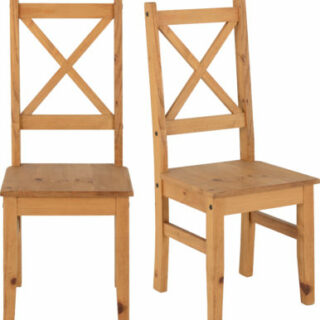 Salvador Chair - Distressed Waxed Pine
