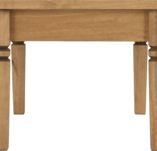 Salvador Tile Top Coffee Table - Distressed Waxed Pine