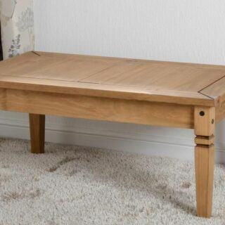 Salvador Coffee Table - Distressed Waxed Pine