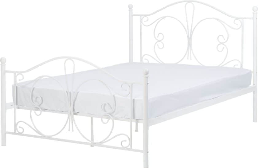 BED_WHITE_Furniture
