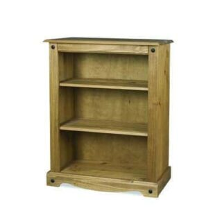 CORONA SMALL 2 SHELF BOOKCASE