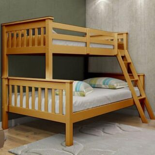 Athens Bunk Triple-Oak