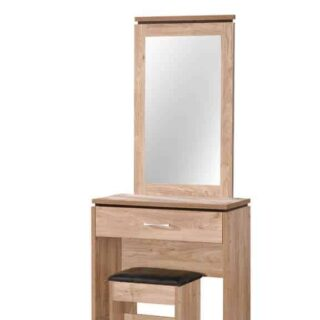 Charlton 1 Drawer Dressing Table-Oak