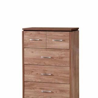 Charlton 3+2 Drawer Chest-Oak