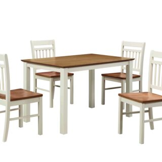 Chester Dining Set (Cream)