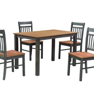 Chester Dining Set (Grey)