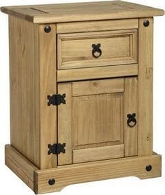 Corona-1-Door-1-Drawer-Bedside-Waxed-Pine