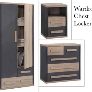 Darcy 4 Piece Bedroom Set