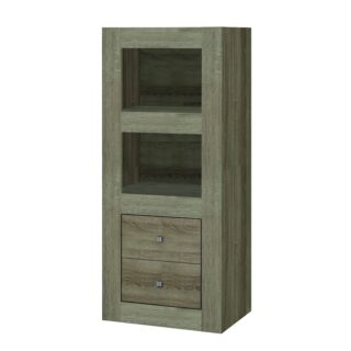 Moda 2-Tier Small Bookcase