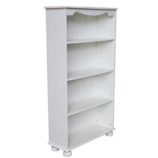 RICHMOND 3 SHELF BOOKCASE - WHITE