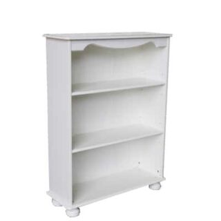 RICHMOND 2 SHELF BOOKCASE - WHITE