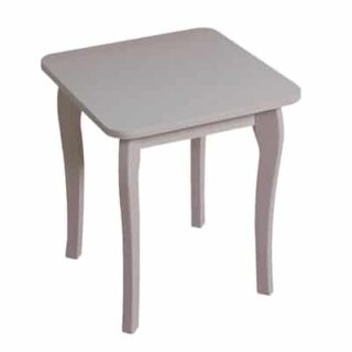BAROQUE STOOL - GREY