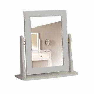BAROQUE MIRROR - GREY