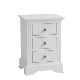 Brooklyn Large Bedside - White