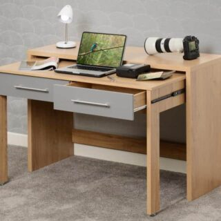 Seville Slider Desk in Grey