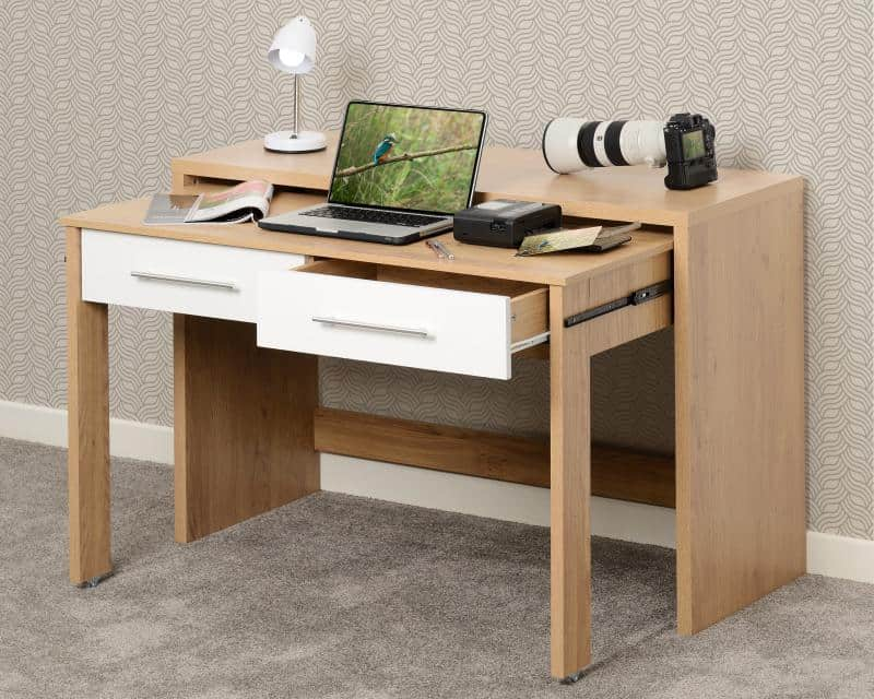 SEVILLE_2_DRAWER_SLIDER_DESK_WHITE_GLOSSLIGHT_OAK_EFFECT_VENEER_2019_08_500