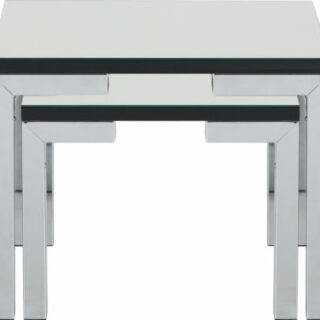 Valencia Mirrored Nest of Tables