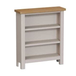 Raoul Painted Small wide bookcase