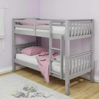 Athens Bunk Single - Grey