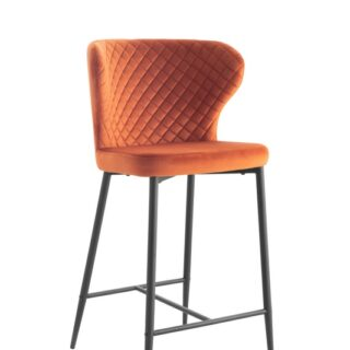 Cosmo Barstool (Orange)1