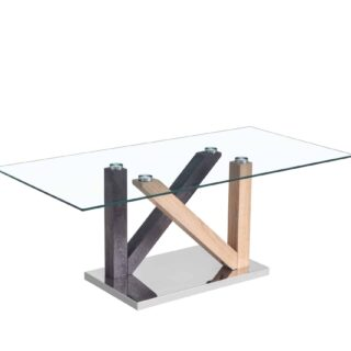 Hanover Coffee Table - Tempered Glass