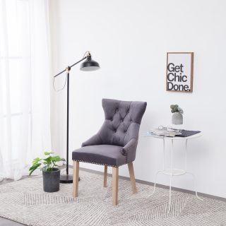 Hudson Chair (Dark Grey) 2