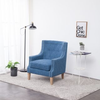 Monza Arm Chair (Blue) 1