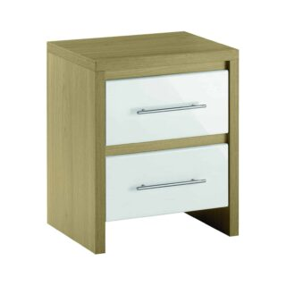 Stock Bedside White Furniture