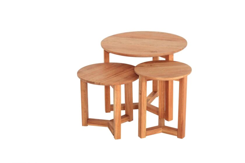 Stow Nest of Tables - Oak