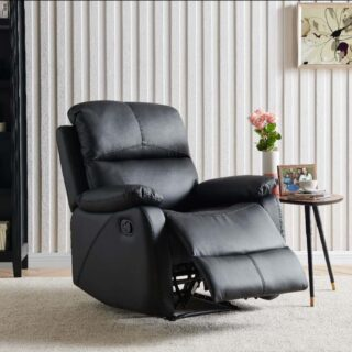 Wesport Recliner Black PU