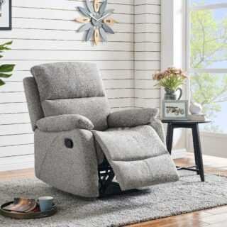 Wesport Recliner Grey PU