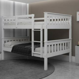 Athens Quad Bunks in White