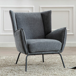Milan Dark Grey Chair