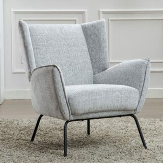 Milan Light Grey Chair