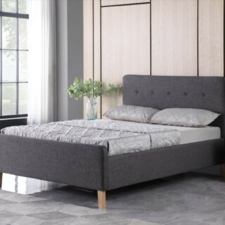 Ashgrove Bed 3' - Grey Fabric