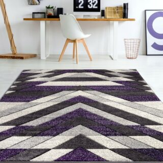 Asher Purple Rug