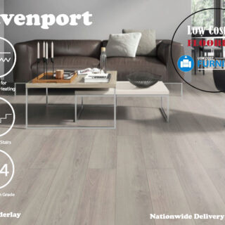 Grey 8mm Laminate Flooring