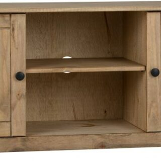 Panama 2 Door 1 Shelf Flat Screen Tv unit Natura